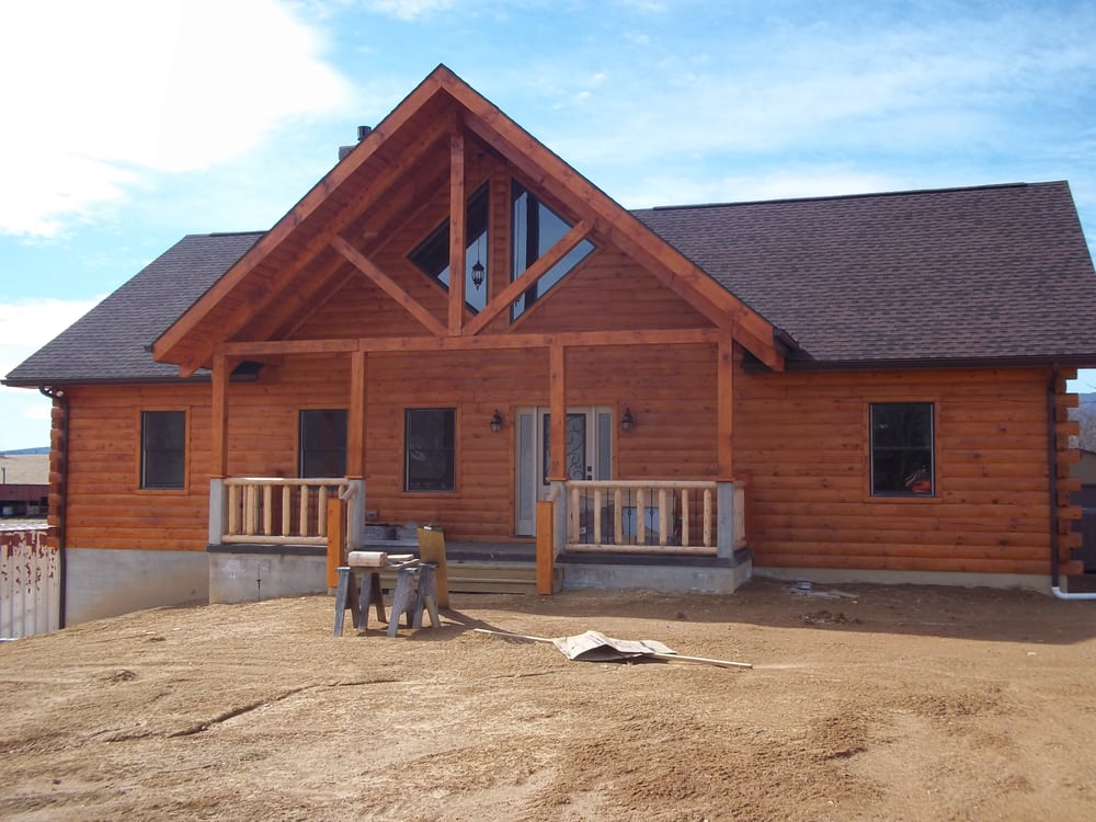 Blue Ridge Log Homes: 3038 Lee Jackson Hwy, Staunton, VA