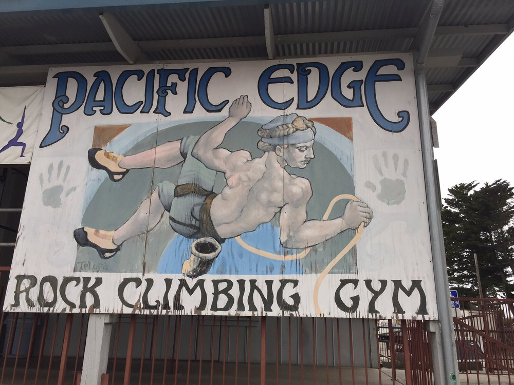 Pacific Edge Rock Climbing Gym
