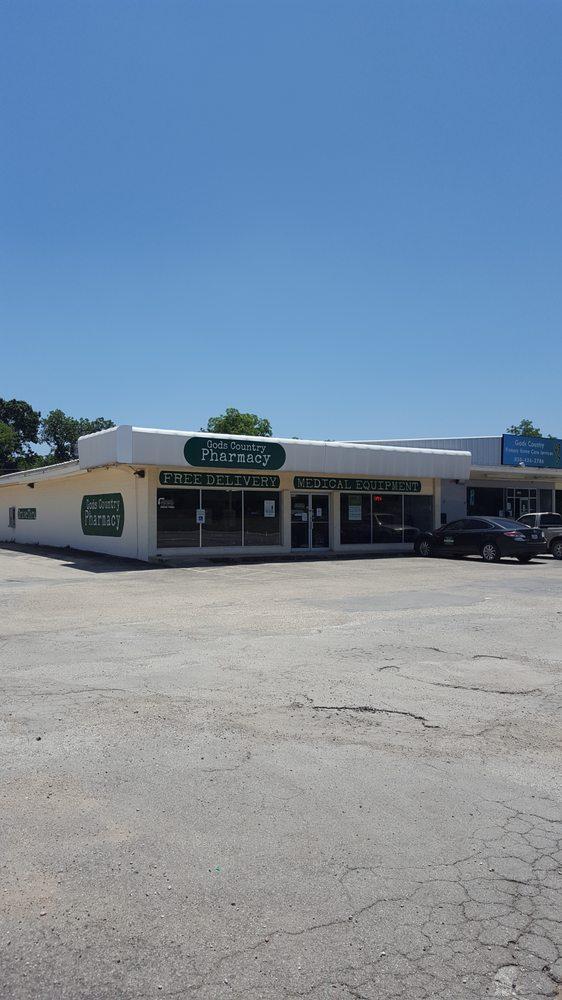 God's Country Pharmacy: 1703 19th St, Hondo, TX