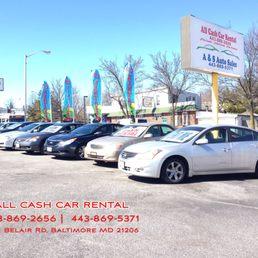 Baltimore Car Rental Cash