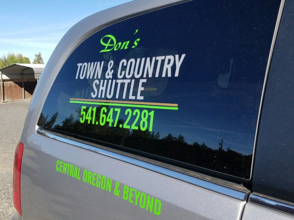 Don's Town & Country Shuttle: 19835 4th St, Bend, OR