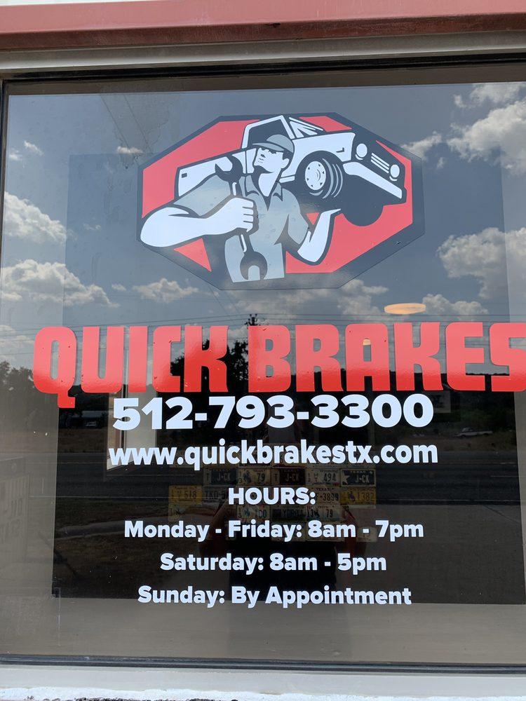 Quick Brakes: 16211 E Hwy 29, Buchanan Dam, TX