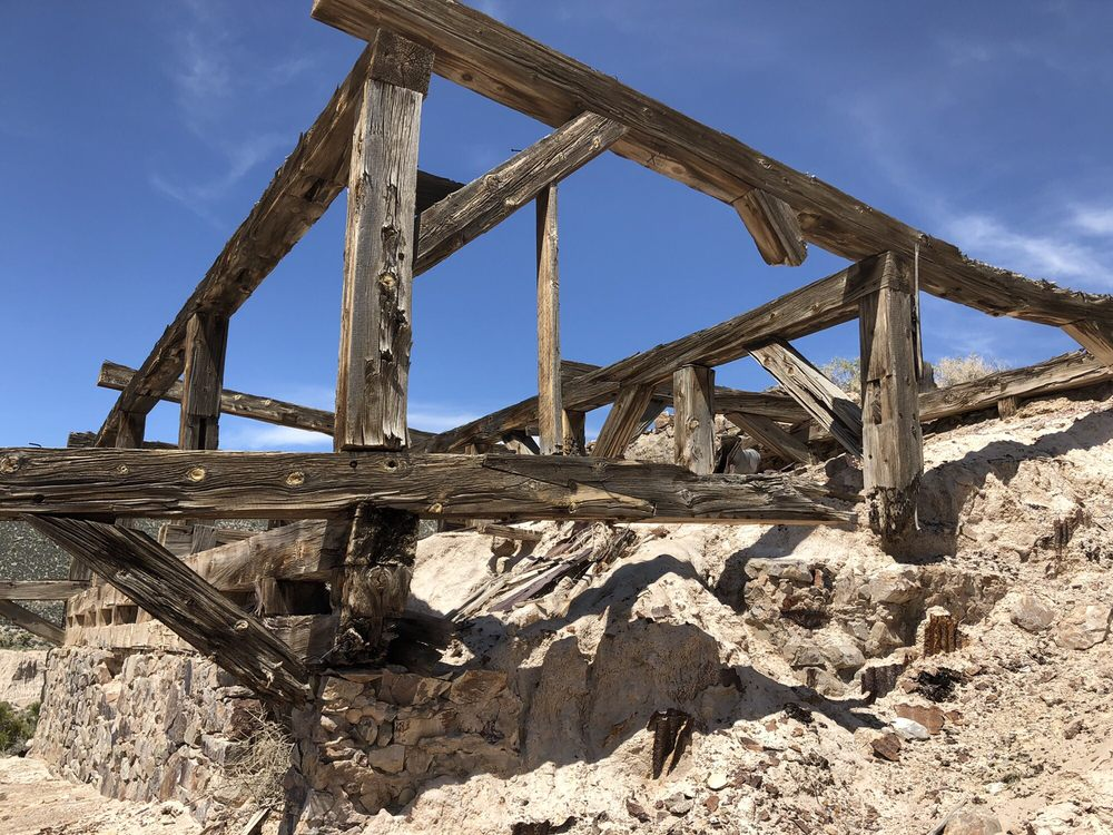 Delamar Ghost Town: Caliente, NV