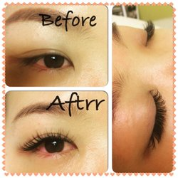 e8460de9643 Photo of Gloss Eyelash Extensions - Bothell, WA, United States. Thin silk  lash ...