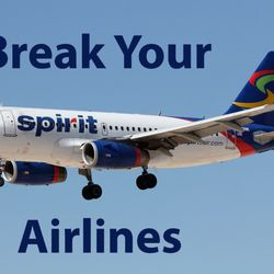 Spirit airlines write a review