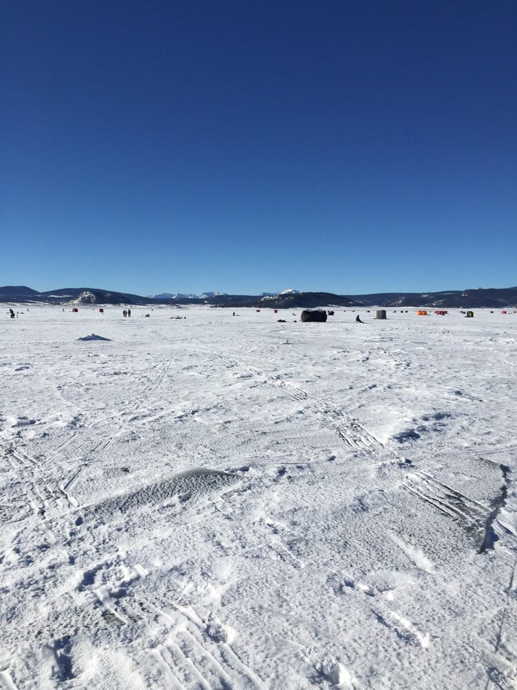 Antero resevoir water delivery 8465 hwy 24 hartsel for Ice fishing near me