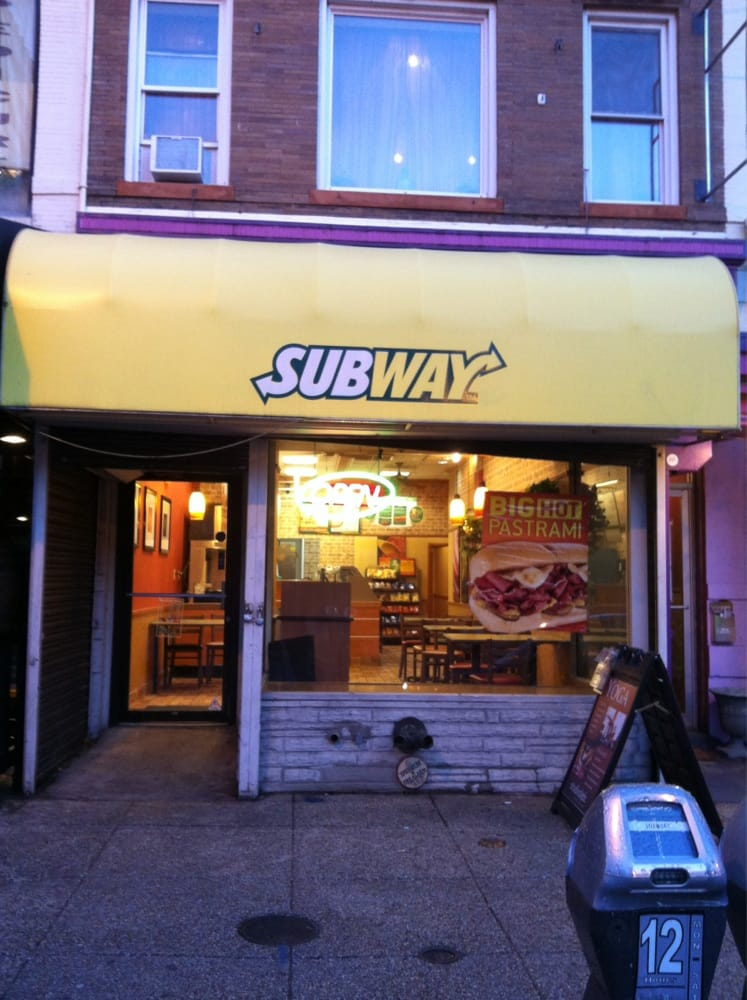 Subway reviews sandwiches th st nw adams