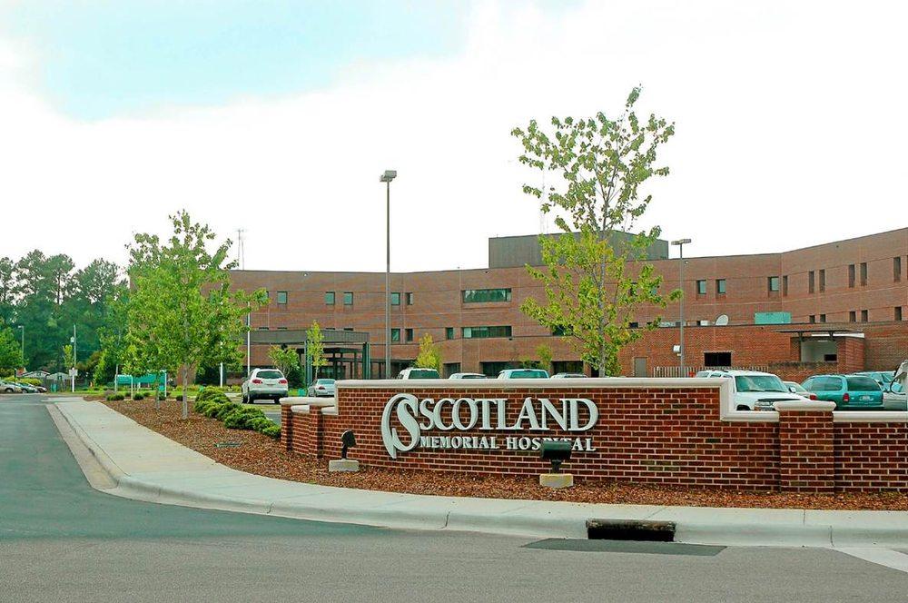 Scotland Memorial Hospital: 500 Lauchwood Dr, Laurinburg, NC
