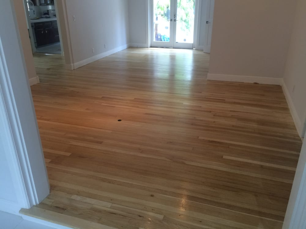 Double bleached white oak yelp for Hardwood flooring inc