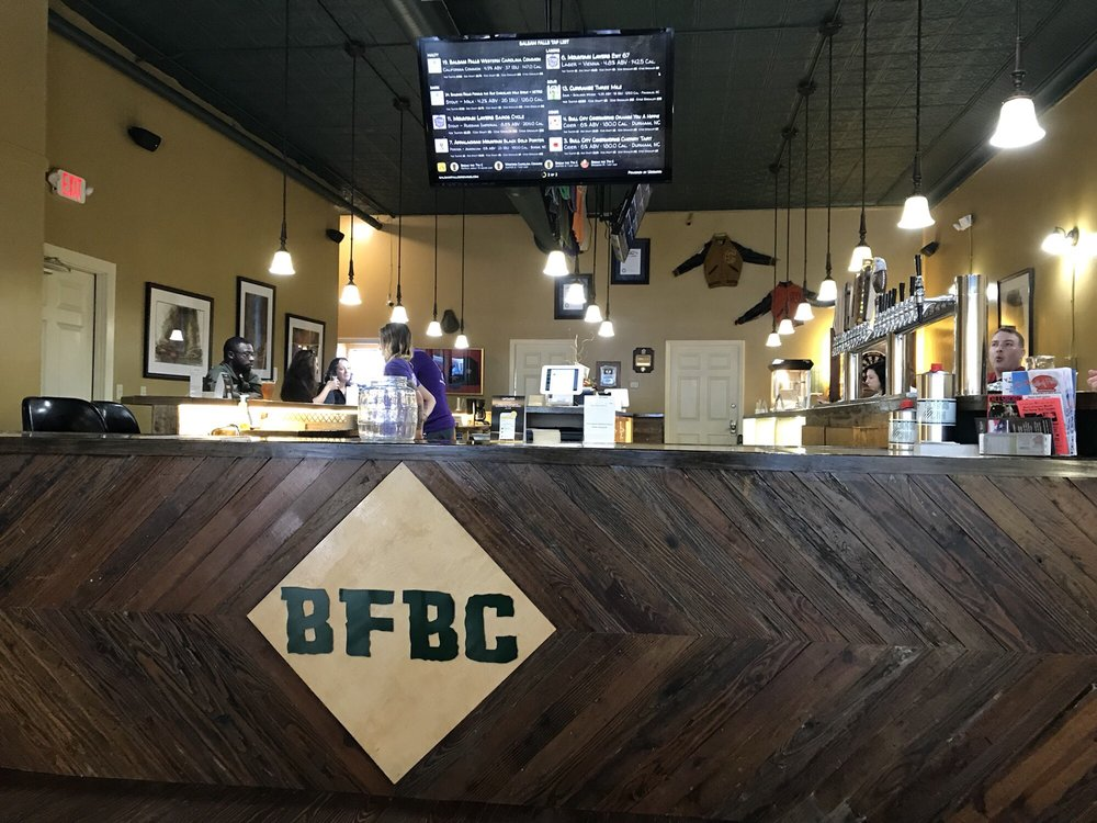 Food from Balsam Falls Brewing