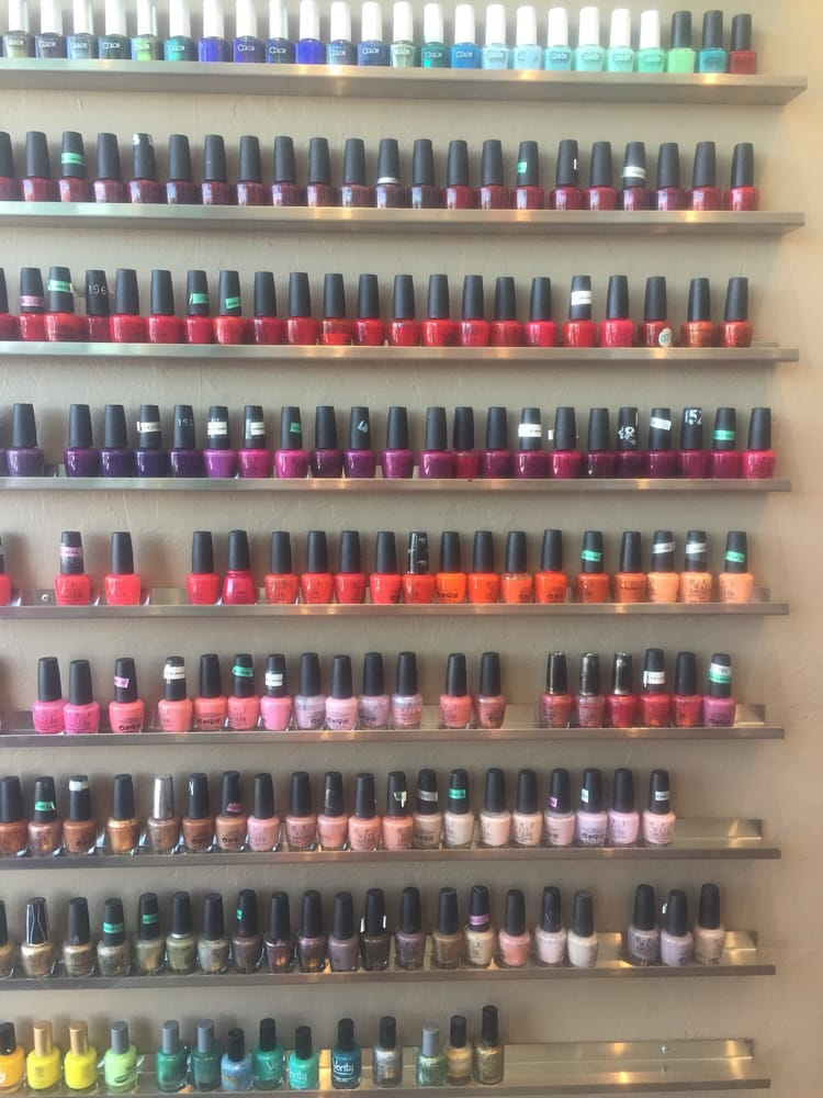 My ocd loves this yelp for Polished nail salon