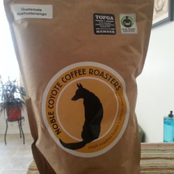 Noble Coyote Coffee Roasters logo