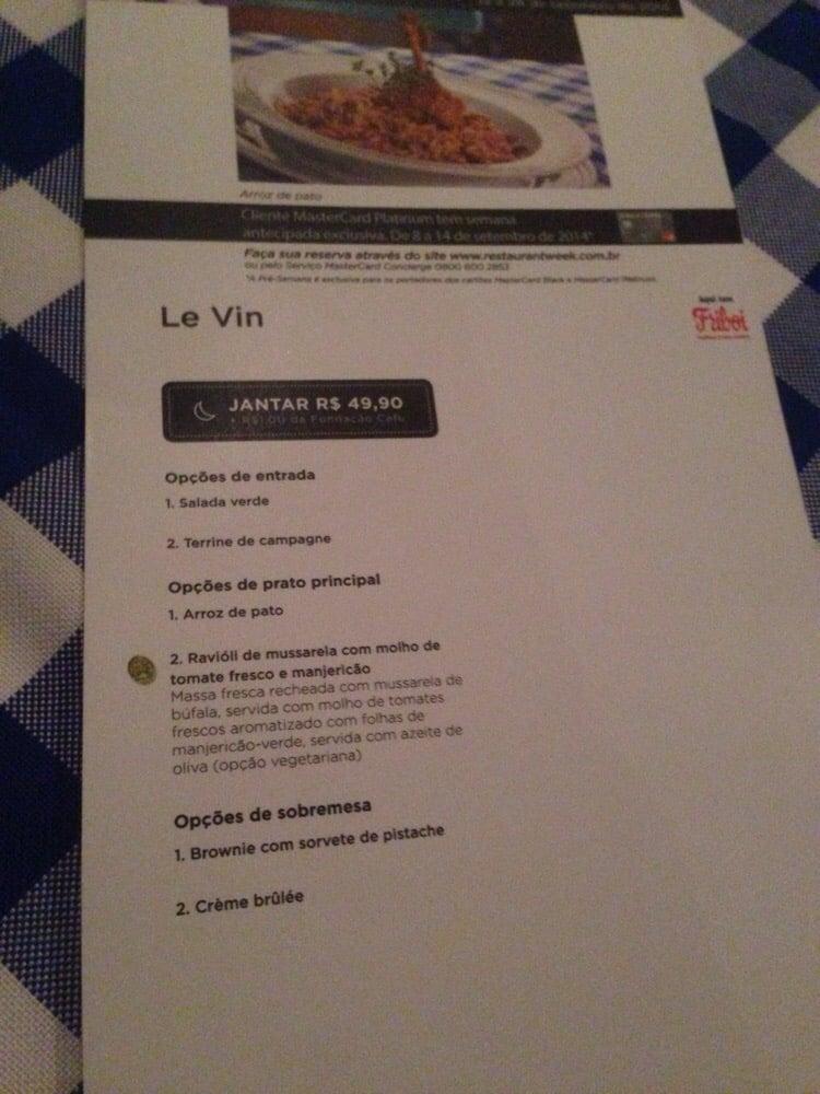 Le Vin Bistro & Patisserie