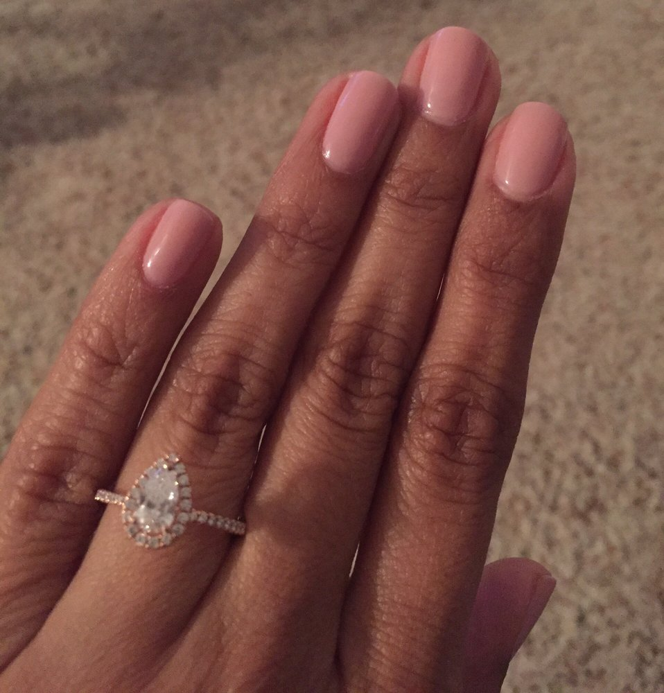 An absolutely amazing gel manicure. The color is Ooh la lace. - Yelp