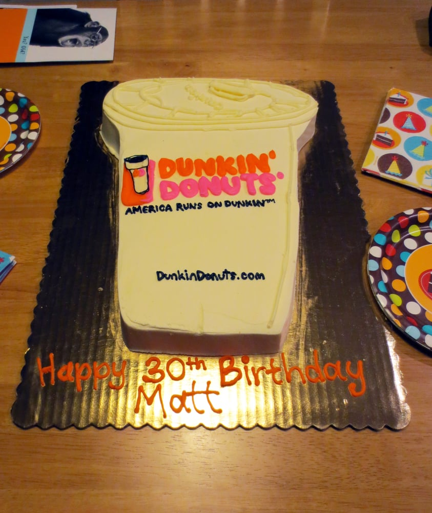 Terrific Birthday Freebie Dunkin Donuts Personalised Birthday Cards Paralily Jamesorg