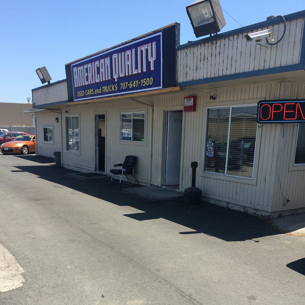 American Quality used Cars and Trucks: 3268 Sonoma Blvd, Vallejo, CA
