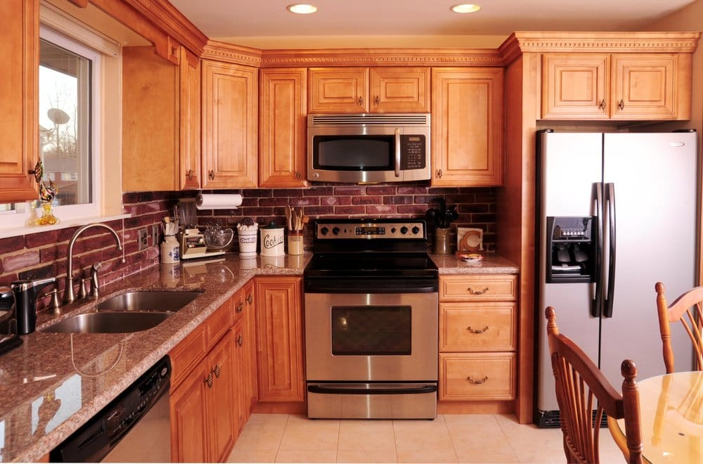 Exceptionnel Photo Of Interior Passions   Turnersville, NJ, United States. Honey Maple  Cabinets With