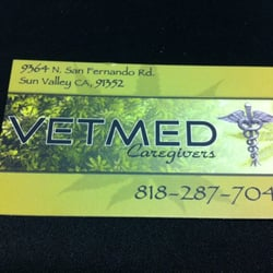 Vetmed care givers community servicenon profit 9364 san photo of vetmed care givers sun valley ca united states business card reheart Image collections