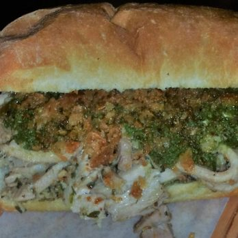 Photo of Meat & Bread - Vancouver, BC, Canada. Chicken Tinga Sandwich