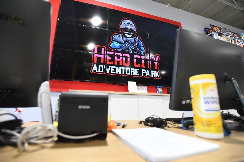 Hero City Adventure Park: 1190 N Kinzie Ave, Bradley, IL