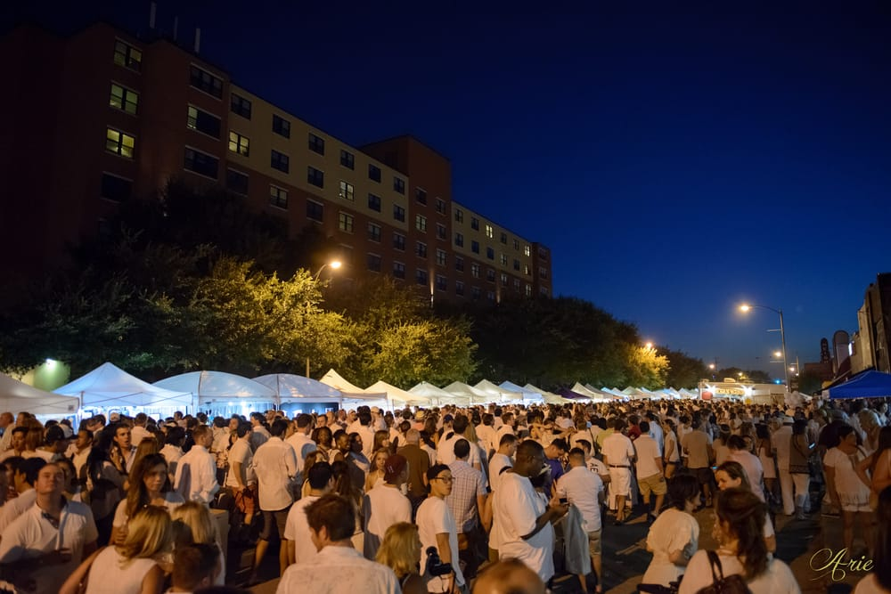 White Linen Night In The Heights
