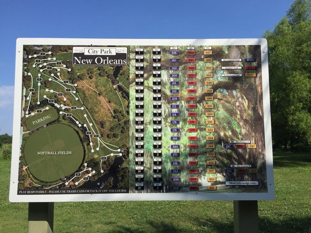 City Park Disc Golf Course