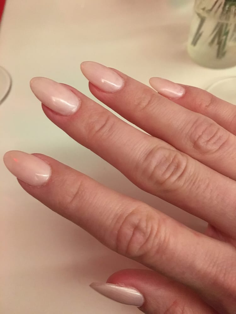 Amazing acrylic process used by ken yelp for Acrylic nail salon nyc