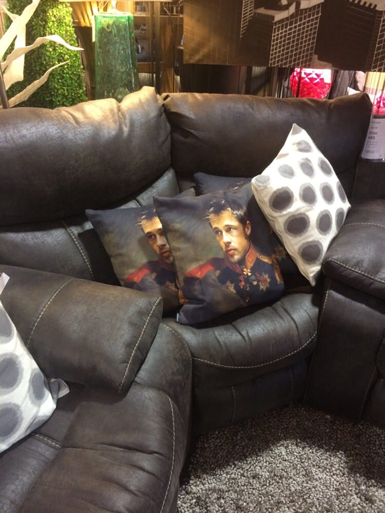 Need A Sir Brad Pitt Pillow Also Available Patrick Swayze Yelp