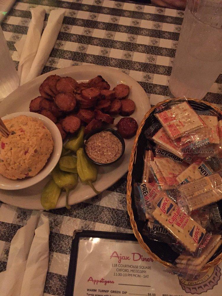 Food from Ajax Diner