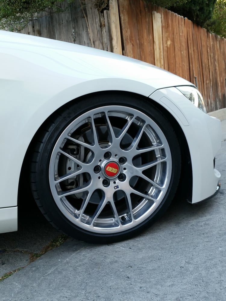 polished bbs bmw zcp competition e46 m3 wheels on a 2012. Black Bedroom Furniture Sets. Home Design Ideas