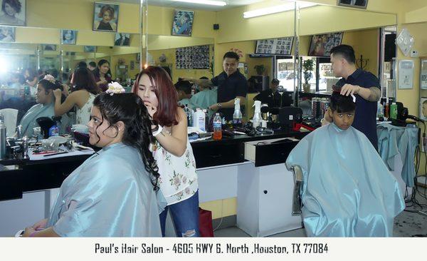 Paul Hair Salon 4605 Highway 6 N Houston Tx Hair Salons Mapquest