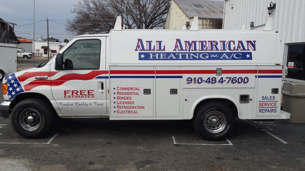 All American Heating & Air Conditioning: 215 E Broad St, St pauls, NC