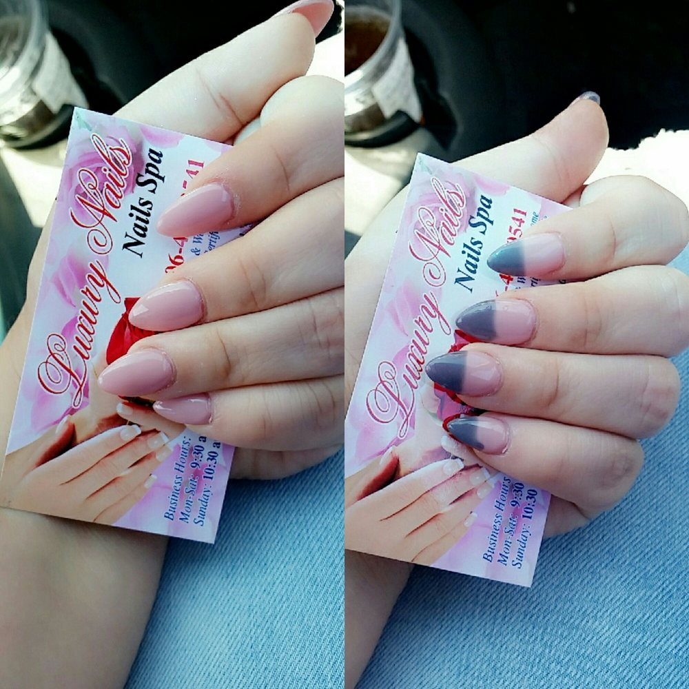 New color changing polish changes in hot and cold weather very fast ...