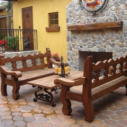 Photo Of Demejico   Santa Clarita, CA, United States. Spanish Style Benches  And ...