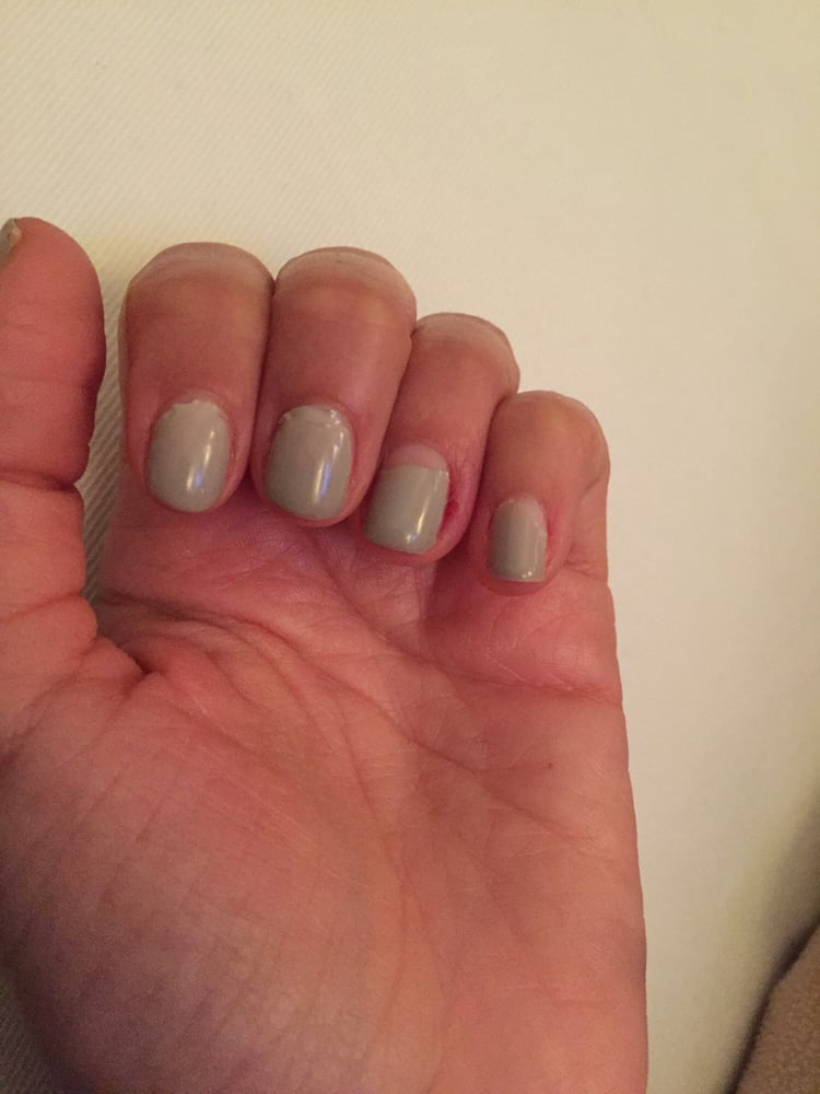 Each nail chipped or peeled from the cuticle - Yelp