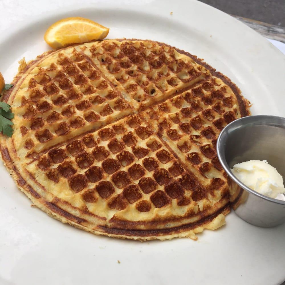 Sour cream waffles 9$ - Yelp