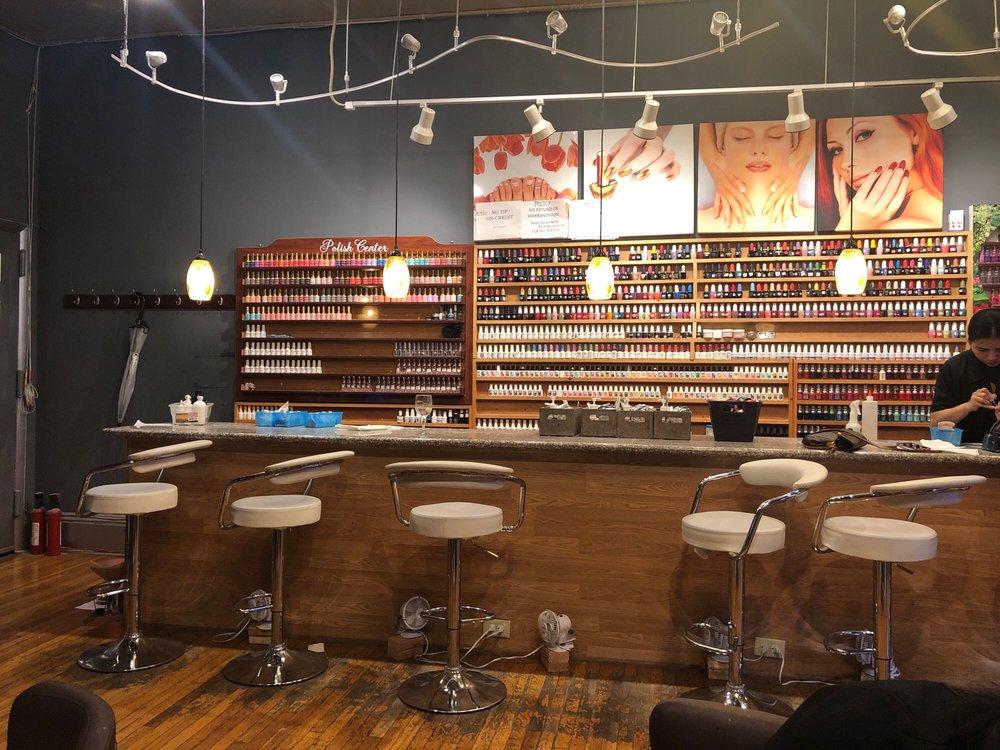 Photo of Nail Spa Bar - Philadelphia, PA, United States. The nail bar