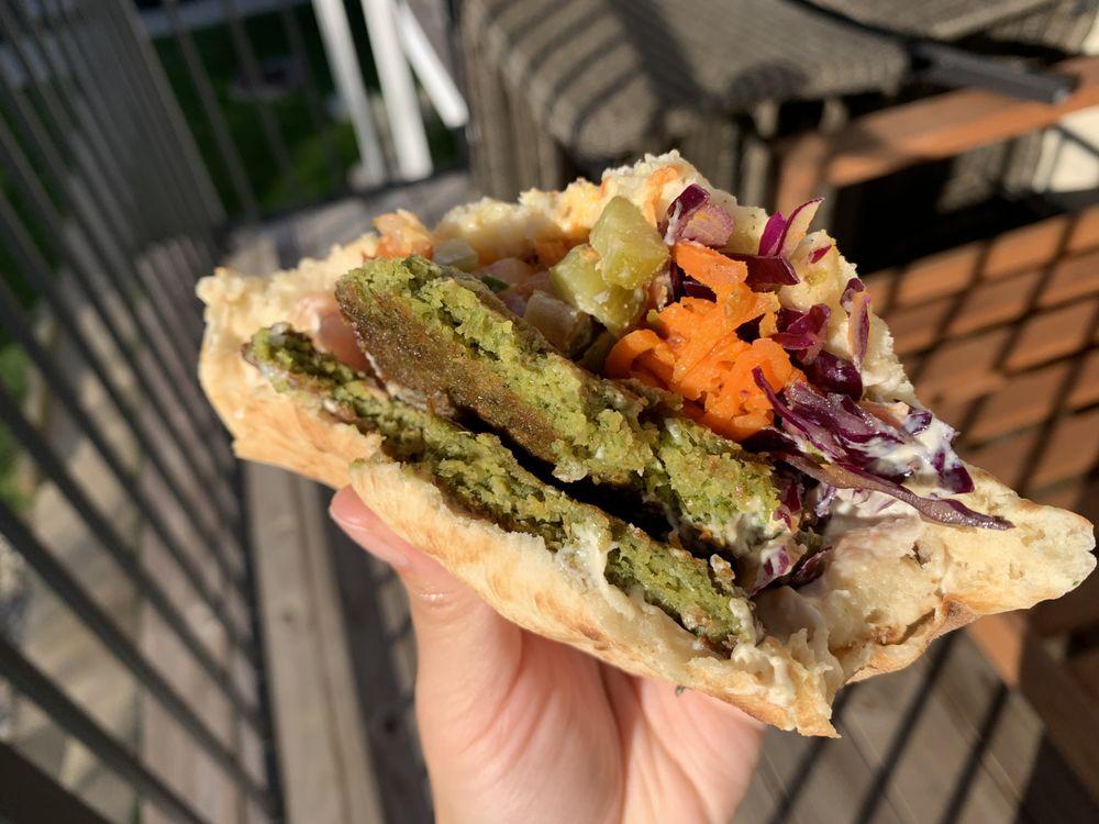 Dalia's falafel: 4128B Howard Ave, Kensington, MD