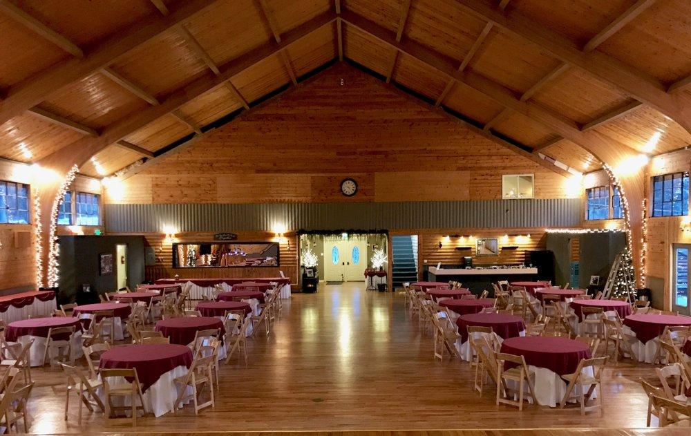 The Pinecrest Event Center Beautiful Hardwood Floors