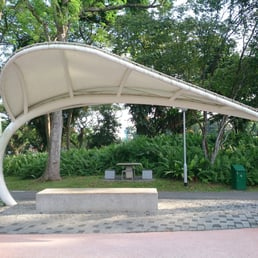 Photo of Bishan Park - Singapore Singapore. Leaf shaped shelter. & Photos for Bishan Park - Yelp