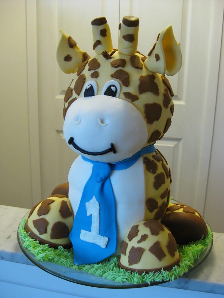 giraffe 1st birthday cake Yelp
