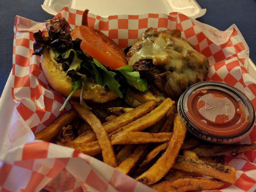 Applewood Smoke Burger