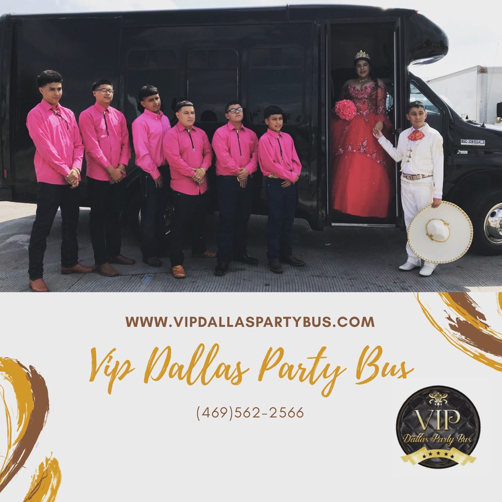 Vip Dallas Party Bus