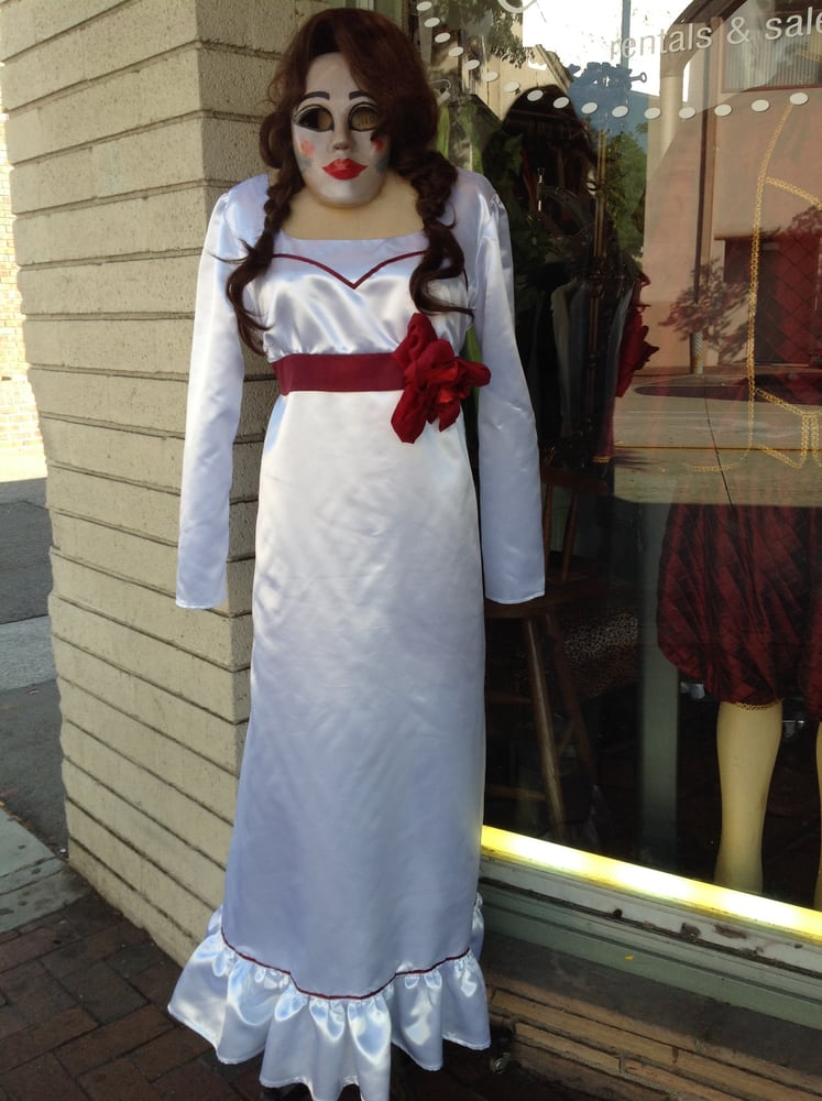 Annabelle doll dress rental or buy! This movie was filmed here in