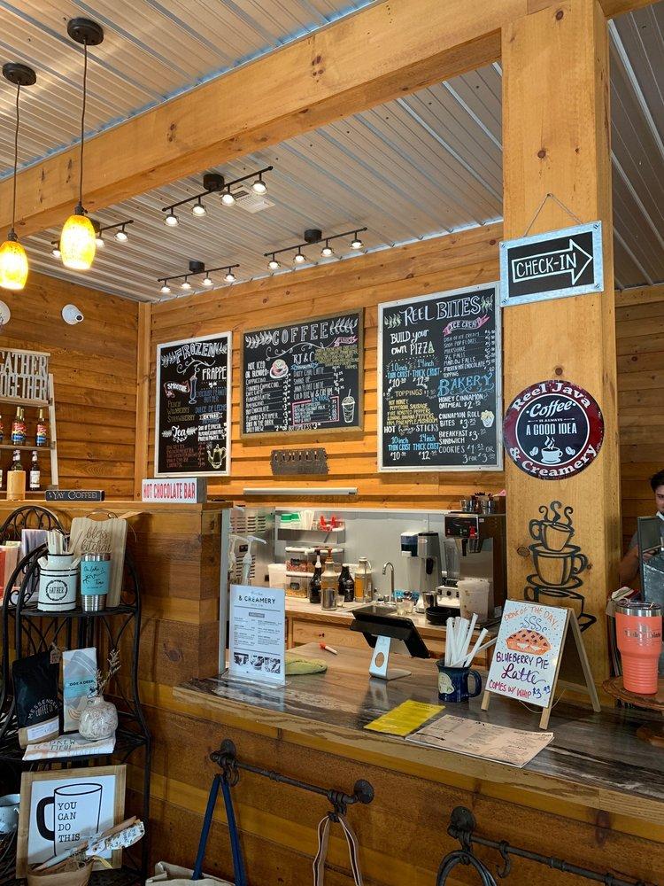 Reel Java And Creamery: 2671 S Hwy 92, Jamestown, KY