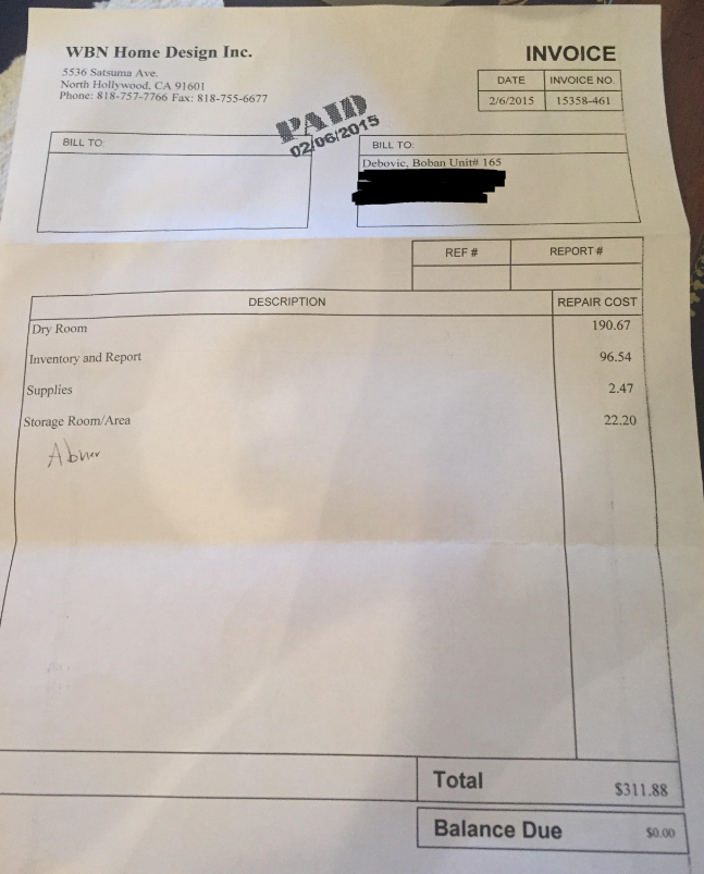 Invoice For My Yearbook, $300 Estimate When They Quoted Me