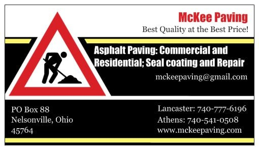 McKee Paving: 16433 US Rte 33, Nelsonville, OH