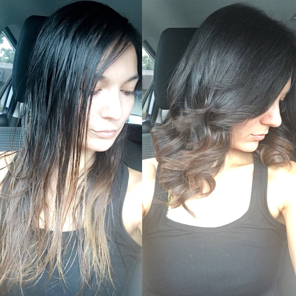 Before and after i love it cinthia cut my hair yelp for 18 8 salon dallas