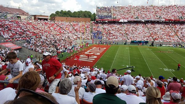 Carter Finley Stadium Map on