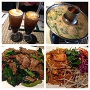 Thai iced tea menu khun dang restaurant north hollywood for Amazing thai cuisine north hollywood
